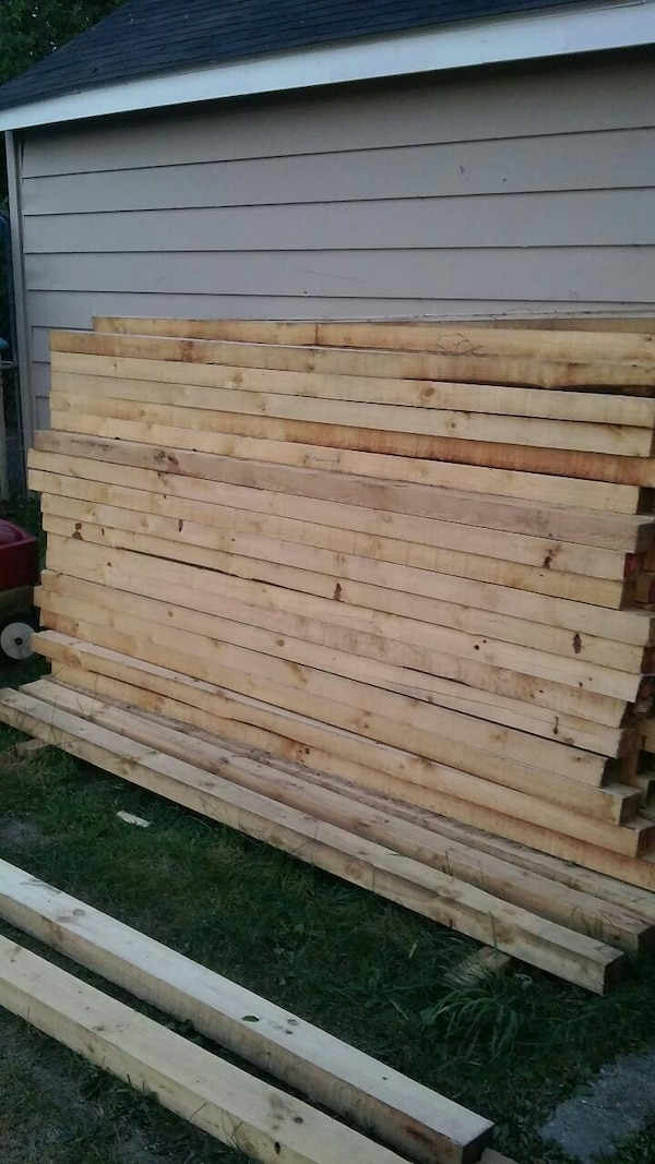 206 fence post. 8ft. 3x5