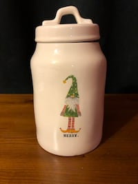 Rae Dunn Xmas Gnome Canister Whitby, L1N 8M8