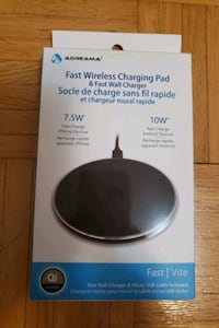 Fast wireless charging pad & fast wall charger  Vaughan, L6A 3G5