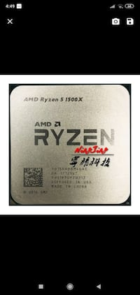 Ryzen 1500x  (am4 socket)