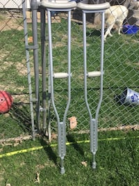 Guardian crutches up to 300 lbs. Stirling-Rawdon, K0K