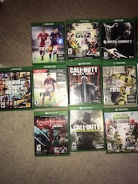 Xbox one games, hit me up for individual game prices  Sherwood Park, T8H 2J8