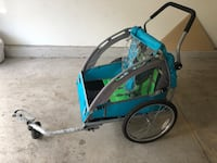 Bike trailer or running stroller. Fits two kids. Very sturdy. Odenton, 21113