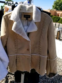 womens suede jacket new size med retail $80 asking $45 OBO Albuquerque, 87114