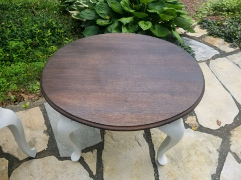 Rustic refinished side tables. 1ed8328d-7582-4785-860f-645c2f989ad6