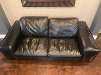 Black Leather Love Seat Las Vegas, 89141