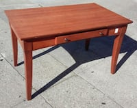 "#17207 Cherry Effect 50"" x 30"" Library Table - $90 Oakland, 94610"
