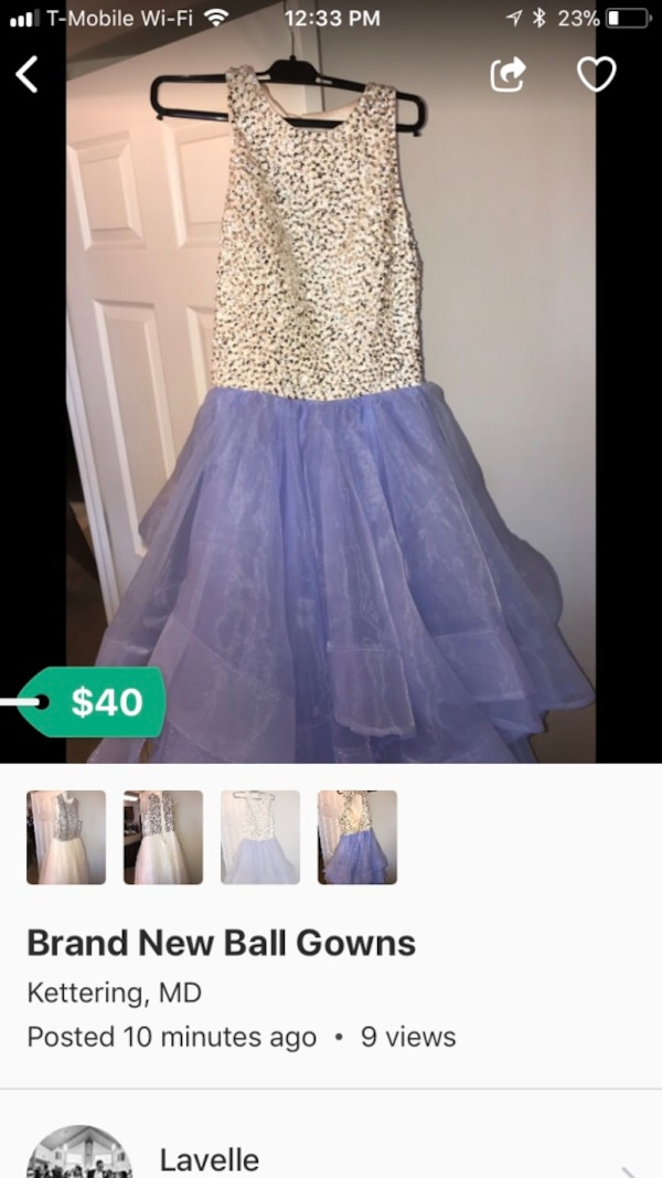 Used Evening Ball Gowns for sale in Bowie - letgo