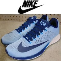 NEW NIKE AIR ZOOM SHOES WOMEN'S 8.5 538 km
