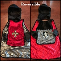 Knights costume. Reversible cape + hood. Markham, L6E 1Y4