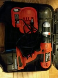 Black and decker cordless power drill and driver