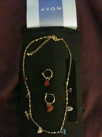 Necklace and earrings by AVON Dumfries, VA, USA