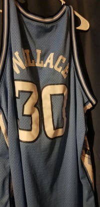 3XL stitched Rasheed Wallace UNC college jersey