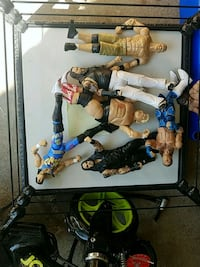 WWE rings and wrestlers Smithtown