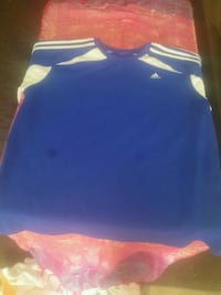 Mens Adidas classis shirt, cut up to tummy for wom Calgary, T3A 2H3