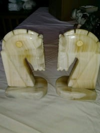 Marble Horse head bookends Arvada, 80004