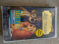 VHS Tape Disney Lady & the Tramp New York, 10021