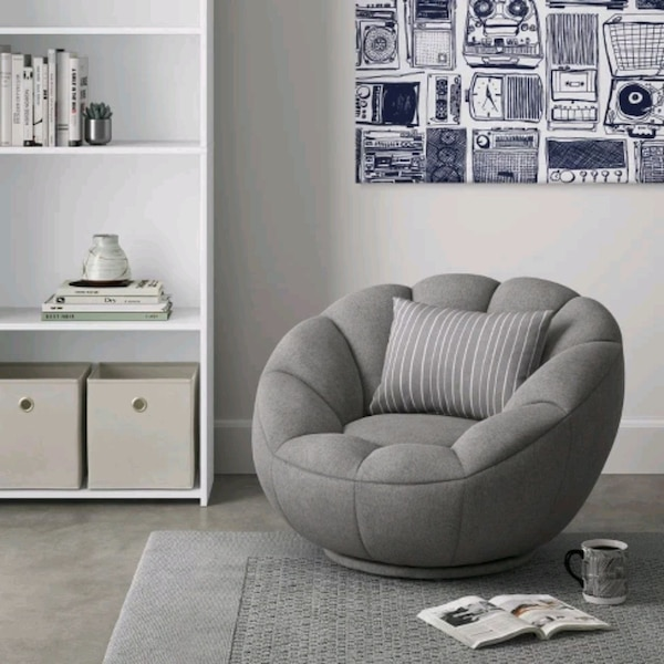 Astounding Low Profile Swivel Tulip Chair White Sherpa Room Onthecornerstone Fun Painted Chair Ideas Images Onthecornerstoneorg