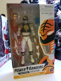 Hasbro power rangers white ranger  Cliffside Park, 07010
