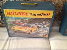 Collection of antique matchbox cars