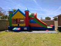 Combo bounce house with slide (dry) Phoenix, 85016