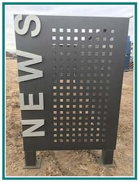 USED News Stand Blockade | Railing | **Great for Firewood**