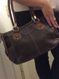 Woman's Leather RELIC brand brown and beige color purse Tulsa, 74136