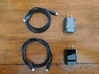 Two (2) Genuine Nexus 6p Chargers USB C to USB C with Cables Pittsford