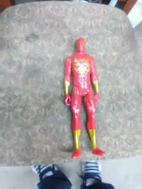 red and black action figure Des Moines