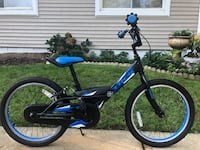blue and black BMX bike Oakton, 22124