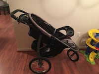 Baby's black and gray jogging stroller Dumfries, 22026
