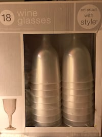 Disponsible 18 wing glasses Silver Spring, 20904