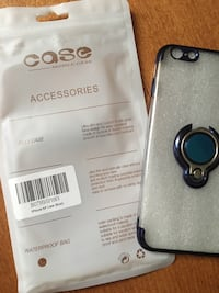 iPhone 6 clear case with ring Mississauga, L5L 3E3