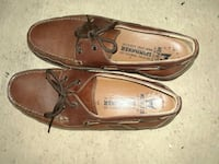 pair of brown Sperry boat shoes Kenosha, 53144