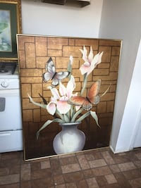 Very large painting framed Albuquerque, 87107