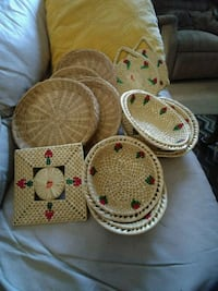 Bowls sold.  baskets hot pads.   Maplewood, 55109