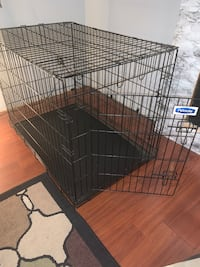 "XL Petmate foldable dog crate. 42""L x 28.5""W x 32""T"