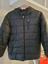 Used Boys Jacket Old Navy Size Large Black for sale in ...