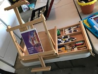 Folding Table Easel with Drawer+ *See 2 Photos! Bakersfield, 93312