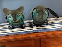 two black-and-blue cat and dog wire decors East Patchogue, 11772