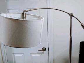 Adjustable Height Arc Floor Lamp