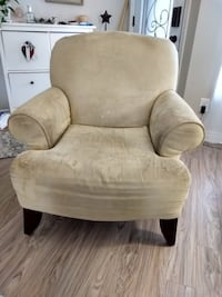 Sage green sofa and chair.  Throw cushions not included  Clean smoke free home   No rips or tears Aurora, L4G 1H5
