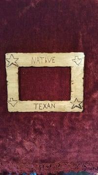 Custom Texas Theme Picture Frame Hawkins, 75765