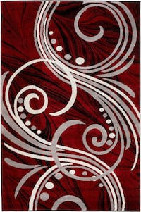 Brand new modern Area Rug size 8x11 red carpet Annandale, 22003