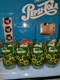 Collector's sprite glasses Montréal, H8S 3N3
