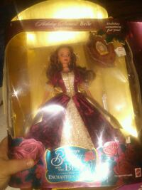 1997 disney Barbie doll in red and white dress