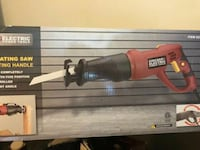 black and red Black & Decker corded hand drill Fayetteville, 28314