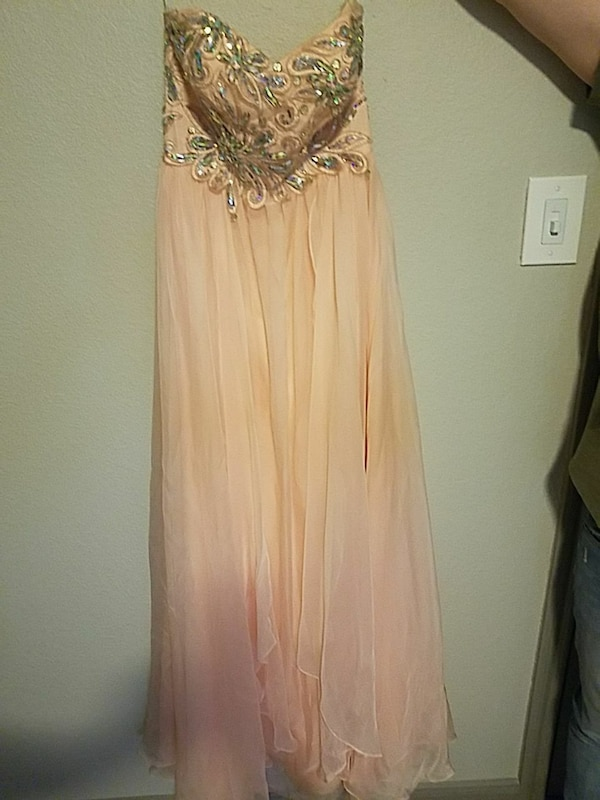 4c3ce96b410 Used Strapless Prom Dress for sale in Round Rock - letgo