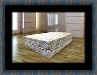 Queen plush 2pc mattress and box spring Temple Hills