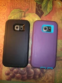 two black and blue smartphone cases McAllen, 78501